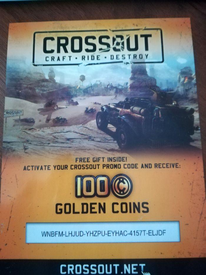 100 golden coins. Сто золотых монет crossout