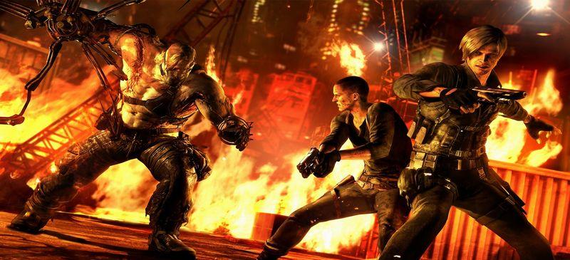 Обзор Resident Evil 6 боевик с хорошим сюжетом