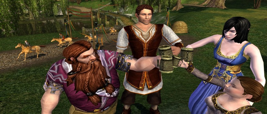 5 THE LORD OF THE RINGS ONLINE